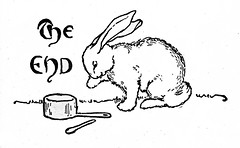 The End rabbit photo by katinthecupboard