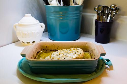 277/365 - Baked Lemon-Herb Chicken
