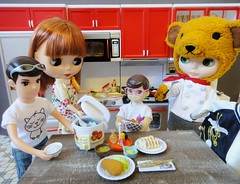 Dinner photo by Kewty-pie