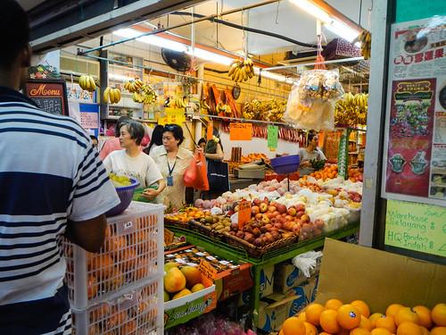 Average Fruit Market in Malaysia