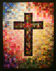 Cross Quilt at San Rafael's photo by lars hammar