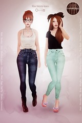 Rise skinny jeans - Out now ! photo by Maylee_Oh