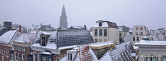 Winter Snowing,Groningen Stad, Roofs,the Netherlands,Europe photo by Aheroy(2Busy)