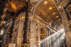 Rome / Basilica of St. Peter photo by Stavros A.
