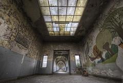 Empty corridors photo by odin's_raven