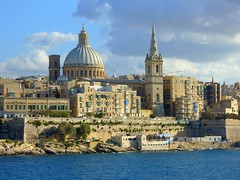 View on Valletta, Malta photo by Frans.Sellies