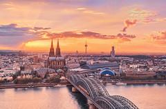 Cologne Sunset photo by ill-padrino www.matthiashaker.com