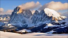 Dolomiti - Sassolungo e Sassopiatto photo by Luigi Alesi