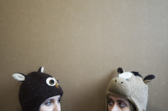 Animal Hats. photo by cmstark