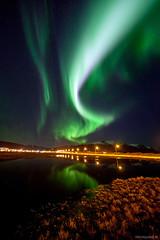 Fast Aurora photo by Friðþjófur M.