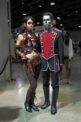 Cosplay Lady Mechanika and Lord Blackpool - Steampunk - Long Beach Comic Con 2012 photo by richcz3