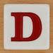 Appletters Letter D