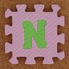 Foam Letter N