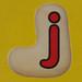 Fret Saw Letter J