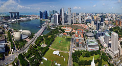 Marina Bay Singapore – Panorama... photo by williamcho