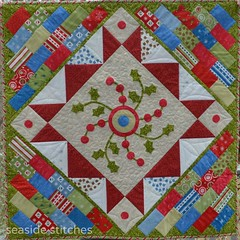 Charming Christmas photo by Tina ~ Seaside Stitches