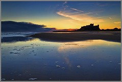 Bamburgh Castle Sunrise photo by Ian Foote