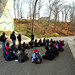 Eco--Explorations students at the Openlands Lakeshore Preserve; Image: Exelon Corporation