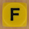 WORDS dice letter F