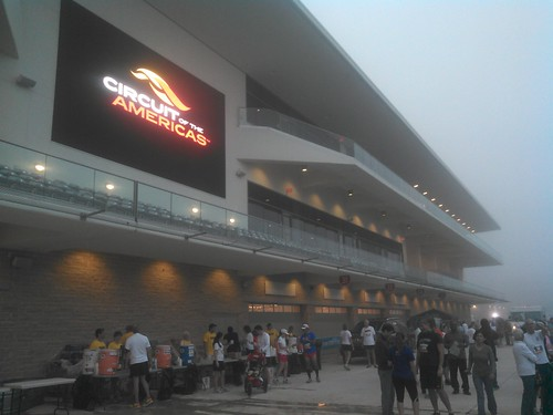 Formula Run at COTA