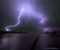NEW YORK CITY LIGHTNING photo by Jason Pierce Photography