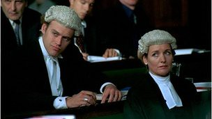 British lawyer wig