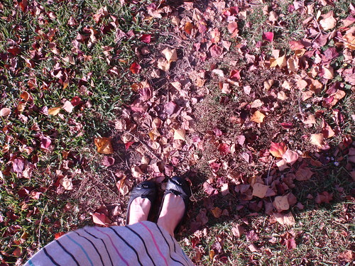 Me with Leaves
