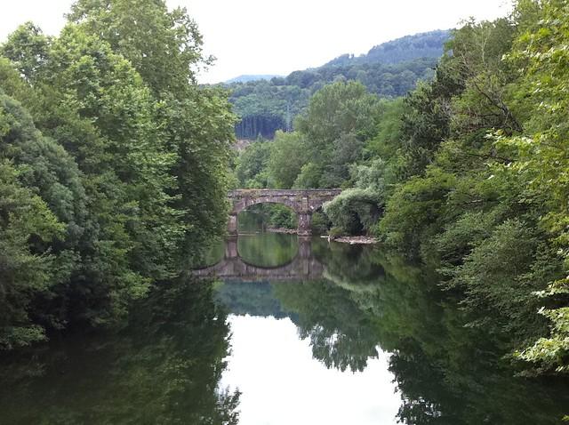 Puente de San Miguel en Bera