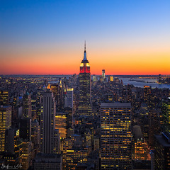 New York sunset photo by Stefano Viola