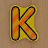 Fret Saw Letter K