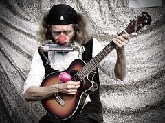 Payaso triste / Sad clown photo by Hernan Piñera
