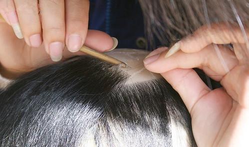 Hand-made Wig