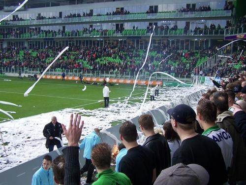 8226982162 f6e65b1ac3 FC Groningen   Ajax (brand Euroborg), 13 april 2008