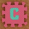 Foam Letter C
