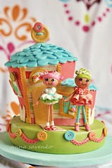 Lalaloopsy house cake photo by anna savenko (sVeshti4ka)
