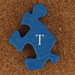 Dinosaur Puzzle Letter T