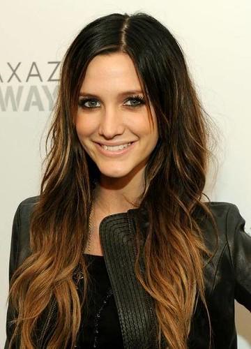 Ashlee Simpson Ombre Hair
