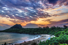 sunset in Kenting, Taiwan photo by perahia