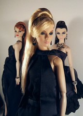 Strictly Black - Ponytail Trio photo by Doll Fashionista