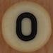 bead letter O