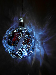 Blue Christmas light  (Explore dec. 18th) photo by Goldy Rose (catching up)