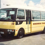 1999 Mitsubishi Rosa bus used on Ferry Feeder service