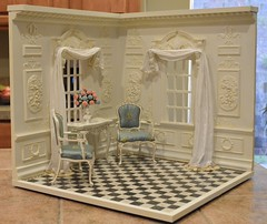 1:6 Scale Room #2 photo by Ken Haseltine Regent Miniatures