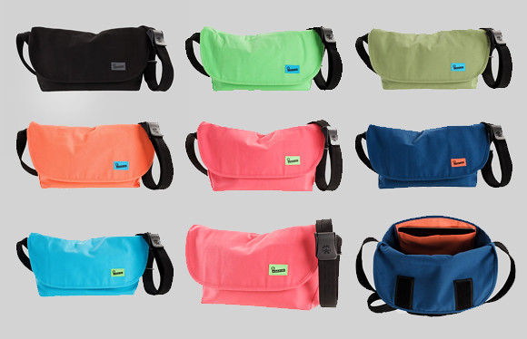 Crumpler Ludicrous Debacle comes in this rainbow of colors