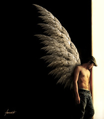 The Archangel: Waiting By Heaven's Door photo by Tomasito.!