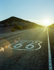 Sunset, Route 66 photo by joshuammulligan
