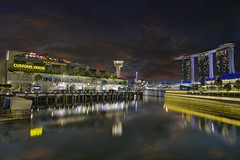 Singapore Esplanade at Night photo by David Gn Photography