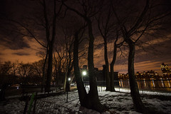 Late night (cold) stroll in the (Central) park  {Explored} photo by ohhector