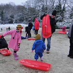 Cleaning out the sledge<br/>19 Jan 2013