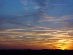 Autumn Sunset, Zeist, Netherlands - 6103  ☼ photo by HereIsTom